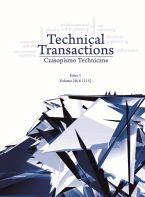 Technical Transactions. Iss. 1