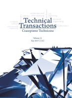 Technical Transactions. Vol. 11