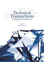 Technical Transactions. Vol. 8