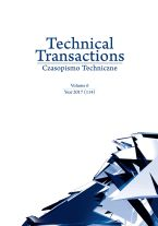 Technical Transactions. Vol. 6
