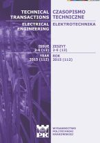 Technical Transactions iss. 13. Electrical Engineering iss. 2-E