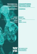Technical Transactions iss. 24. Chemistry iss. 2-Ch