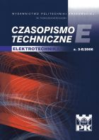 Technical Transactions. Electrical Engineering, Czasopismo Techniczne. Elektrotechnika